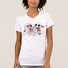 Mickey & Minnie | Love you Lots T-Shirt - click to get yours right now!