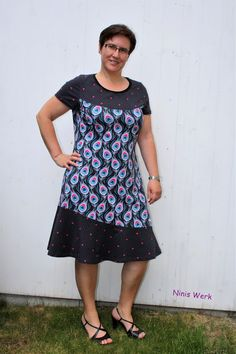 Ninis Werke: Lady Amalya Short Sleeve Dresses, Dresses With Sleeves, Outfit, Plus Size, Summer Dresses, Blog, Fashion, Vestidos, Sewing Patterns