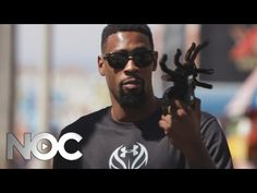 """Like DeAndre Jordan's spider in Spider Prank - """"Got Em"""" w/ DeAndre Jordan - Ep 2 - The NOC? You can purchase the spider here: http://www.ecrater.com/p/16028263/radio-remote-control-black-widow?gps=1"""
