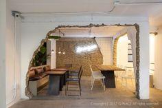모던빈티지 카페 인테리어 / 한남동 펍 : 네이버 블로그