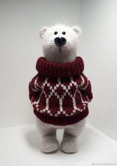 Crochet Teddy, Crochet Bear, Crochet Patterns Amigurumi, Crochet Toys, Knitting Projects, Crochet Projects, Crochet World, Crochet For Boys, Stuffed Toys Patterns