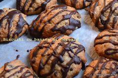 Biscuiti cu banane si cereale | Savori Urbane Banana Oat Cookies, Banana Oats, Some Fun, Crackers, Biscuit, Delicious Desserts, Muffin, Cooking, Breakfast