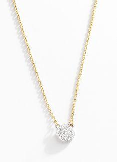 Collar Eimensek. Fina y delicada es la única manera de describir éste hermoso collar elaborado en 4 baños de oro de 18 kt con dije circular. Largo 45 cm + 8 cm de extensión. Modelo: 116071