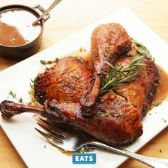Being more of a dark-meat person, if I'm not in the market for a whole roast turkey, I'll choose flavorful legs over breasts any day.