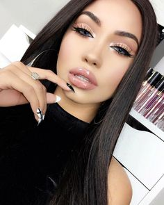 """23.9k Likes, 139 Comments - Melly  Sanchez (@thefashionfreakk) on Instagram: """"These contacts tho they are from @solotica_official in hydrocor ICE use code MELLY to recieve…"""""""