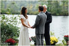 Outdoor Waterside Bridgton, Maine Wedding // Tarry-A-While Resort // I AM SARAH V Photography