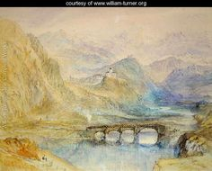 The Domleschg Valley - Joseph Mallord William Turner - www.william-turner.org