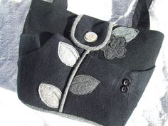 """little black and greys bag 