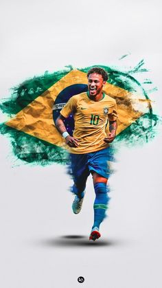Sports – Mira A Eisenhower Iran National Football Team, Brazil Football Team, Football Art, Soccer Art, Neymar Jr Wallpapers, Sports Wallpapers, Go Brazil, Fc Barcelona Neymar, Cr7 Messi