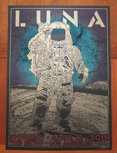 Luna poster by Chuck Sperry | Collectors Weekly