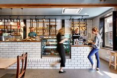 Hospitality Design finalists in the 2017 Australian Interior Design Awards. Australian Interior Design, Interior Design Awards, Residential Interior Design, Melbourne Cafe, Coffee Restaurants, Counter Design, Training Academy, Hospitality Design, Restaurant Design