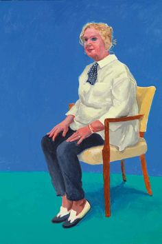 Celia Birtwell by David Hockney
