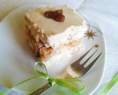 tvarohovo_jablkovy_kolac_finess_dezerty_02 Good Food, Yummy Food, Food And Drink, Pudding, Cooking, Fitness, Desserts, Kitchen, Tailgate Desserts
