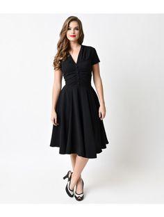 1940s style swing dress