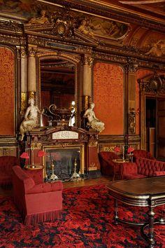 grand salon rouge - Païva Paris