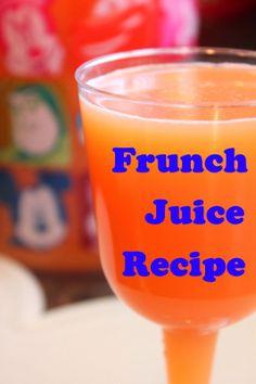 Disney Recipes: Frunch Juice Recipe from Boma (Disney's Animal Kingdom Lodge)  www.TheDisneyDiner.com
