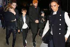 Image result for Beckham family surfing