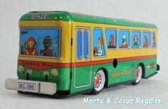 Juguete autobus de colección .