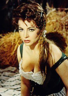 French Postcard By E Photo Publicity Still For Carmen De La Ronda The Devil Made A Woman Tulio Demicheli Spanish Singer And Actress Sara Montiel Is Also