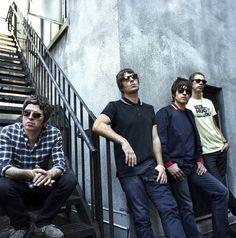 Noel, Liam, Gem, Andy