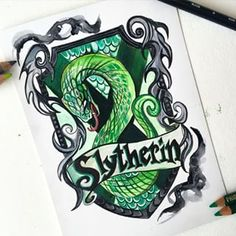 Hogwarts House Crests by Katy Lipscomb