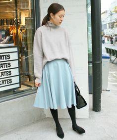 フランネルフレアスカート◆(スカート)|SLOBE IENA(スローブイエナ)のファッション通販 - ZOZOTOWN