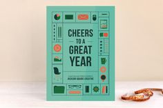 To A Great Year Business Holiday Cards by Dana Beckwith at minted.com