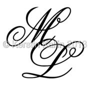 entwined letters M L Calligraphy Tattoo Fonts, Caligraphy, Name Tattoos, Tatoos, Fenix Tattoo, Monogram Tattoo, Stylish Alphabets, Book Folding, Wood Letters