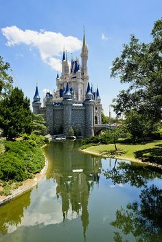 Cinderella Castle, the most beautiful sight in Magic Kingdom. For a free Disney World Vacation quote contact leslie@onceuponatimevacations.com