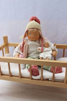 Waldorf inspired baby doll Amelia