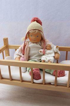 Waldorf inspired baby doll Amelia