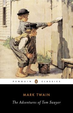 """""""The man who does not read good books has no advantage over the man who cannot read them."""" Happy birthday to the great Mark Twain! Among his children's novels are """"The Adventures of Tom Sawyer"""" and """"Adventures of Huckleberry Finn"""". Adventures Of Tom Sawyer, Adventures Of Huckleberry Finn, Mark Twain Novels, Penguin Classics, Book Show, Stories For Kids, Play, Paperback Books, Books To Read"""