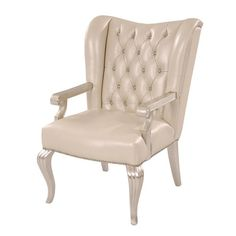 Hollywood Swank Cream Desk Chair White Desks, Desk Chair, Beautiful Homes, Accent Chairs, Hollywood, Bedroom Ideas, Furniture, Home Decor, El Dorado