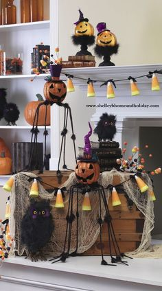 new for halloween 2012 the raz imports ghastly graveyard collection filled with witches spiders jack o lanterns skeletons and