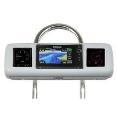 "NavPod GP1070-13 SystemPod Pre-Cut f/Simrad NSS9 evo2 or B&G Zeus² 9 & 2 Instruments f/9.5"" Wide Guard"
