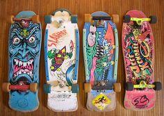Santa Cruz Vintage Skateboards