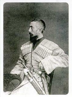 Karbadian prince, North Caucasus mountains, circa 1890's