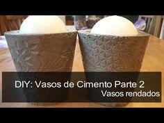 DIY - COMO FAZER UM VASO DE CIMENTO CASEIRO-NANNY RIBEIRO - YouTube