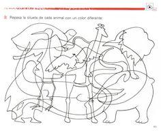 Játékos tanulás és kreativitás: Állatos vetélkedő Dyslexia Activities, Preschool Activities, Perception, Grade R Worksheets, Hidden Pictures, Felt Patterns, Busy Book, Animal Crafts, Food Coloring