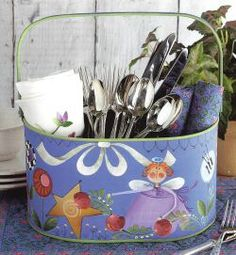 Simply Summer Tote by Shara Reiner Aug 2014 Paintworks Magazine