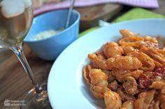 Pasta mit Salsiccia & Ricotta - Madame Cuisine