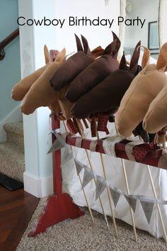 Cowboy Birthday Party ideas - Hopeful Homemaker