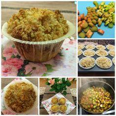 Liian hyvää: Parhaat raparperi-murumuffinssit Something Sweet, Muffin, Breakfast, Food, Breakfast Cafe, Muffins, Essen, Yemek, Meals