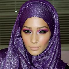 ♥ hijab/makeup is also nice