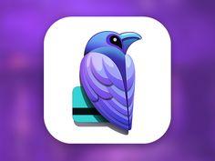 Raven | #logo #design #inspiration #corporate #identity #icon #mark