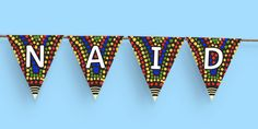 This NAIDOC Week Display Bunting is absolutely perfect for filling those blank spaces between display boards or for hanging in windows. What Is Naidoc Week, Sustainability Education, Display Banners, Relaxing Colors, Printable Banner, Australian Animals, Library Displays, Color Activities