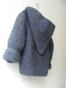 Crochet Baby Hooded Jacket Free Pattern