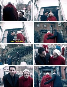 The Handmaid's Tale - - June & Nick The Handmaid's Tale Book, Handmaid's Tale Tv, Handmaids Tale Quotes, A Handmaids Tale, Handmaid's Tale Show, Movies Showing, Movies And Tv Shows, Fangirl Book, Tv Couples