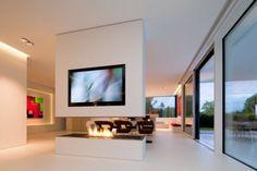 fireplace & room divider