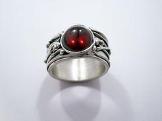 Zandstorm: Ring in zilver (Art Clay Silver,ringen)